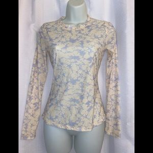 free people intimately thin Floral print top S